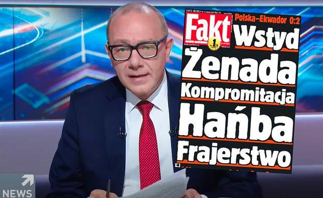 """Grzegorz Jankowski przypomniał okładkę """"Faktu"""", którą wymyślił 15 lat temu"""