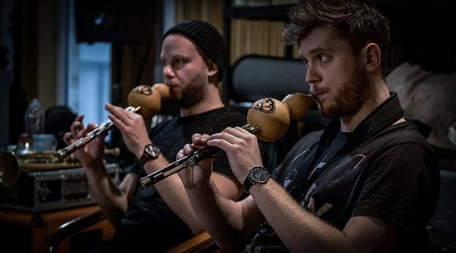 Muzycy COAO podczas próby