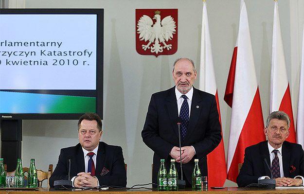 Antoni Macierewicz: tragedia smoleńska pierwszą salwą wymierzoną w pokój światowy w Europie
