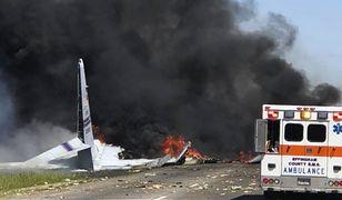Samolot był obsługiwany przez Gwardię Narodową z Portoryko