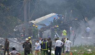 Katastrofa na kubańskim lotnisku