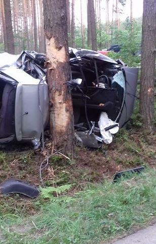 Do wypadku doszło na drodze na drodze Wilcza Wola - Bojanów