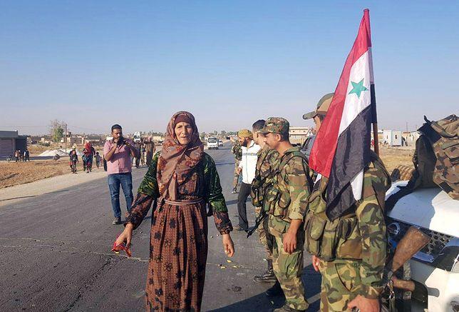 Wojska syryjskiego reżimu zaczęły wchodzić do miejscowości kontrolowanych dotąd przez Kurdów
