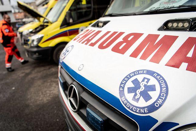 Eksplozja w szkole w Tarnobrzegu. Trzy osoby trafiły do szpitala