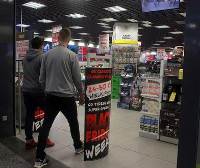 Rekordowy Czarny Piątek. Polacy rzucili się do sklepów