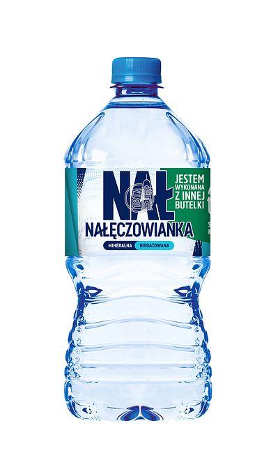 Pierwsza na polskim rynku butelka 1L z 50 proc. zawartością plastiku z recyklingu