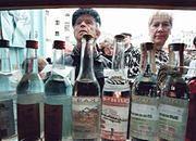 W Rosji spadła produkcja i sprzedaż wódki