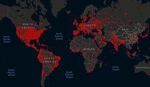 Mapa zakażeń koronawirusem [stan na 05.07]