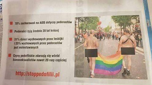Taką grafikę zobaczyli czytelnicy weekendowego wydania gazety z Goleniowa