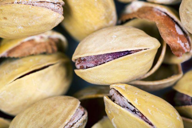 Lista składników odżywczych, które posiadają pistacje, jest bardzo długa