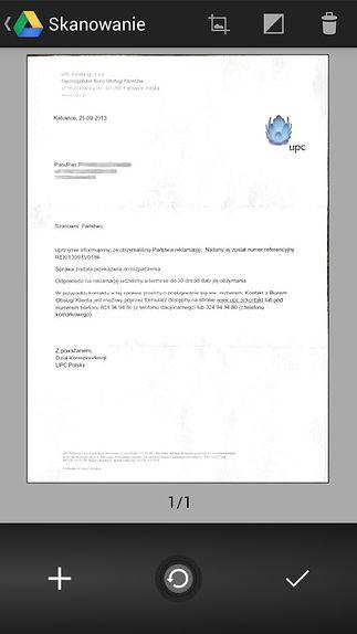 dokument po przetworzeniu