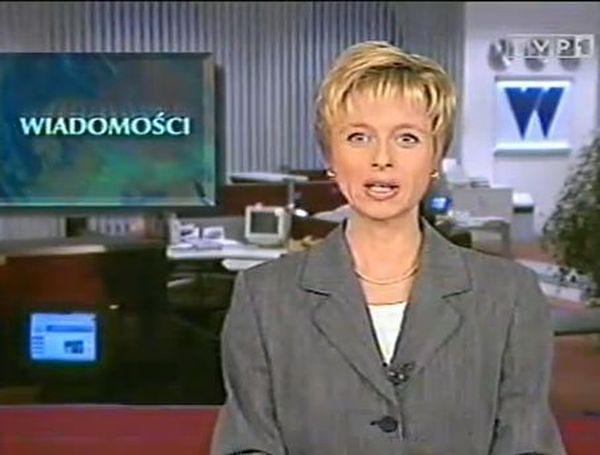 """Jolanta Pieńkowska: poważna prezenterka """"Wiadomości"""""""