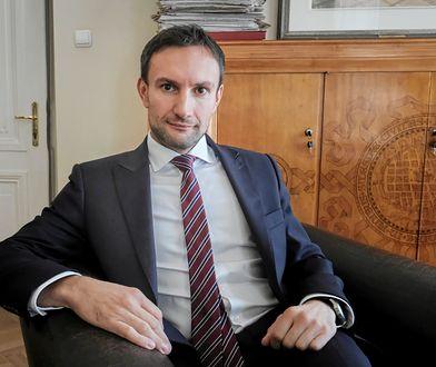 Tomasz Lewandowski to obecny wiceprezydent Poznania