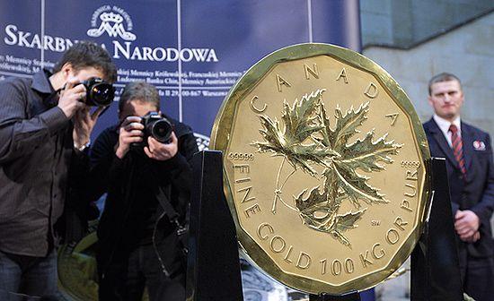 Monetę o próbie 999,9/1000 wyprodukowała Kanadyjska Mennica Królewska.