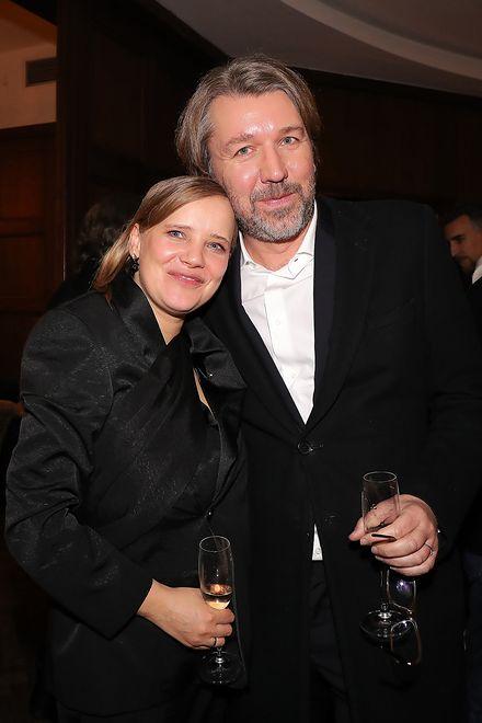 Z producentem Olivierem Bibasem