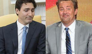Matthew Perry w dzieciństwie pobił premiera Kanady Justina Trudeau