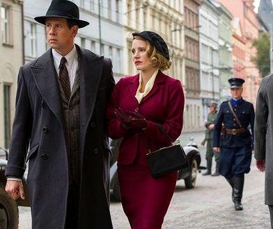 Johan Heldenbergh i Jessica Chastain jako Jan i Antonina Żabińscy