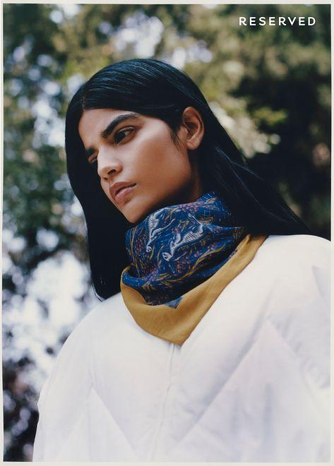 Hinduska modelka w kampanii polskiej marki