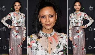 LOOK OF THE DAY: Thandie Newton w rajskim zestawie Erdem
