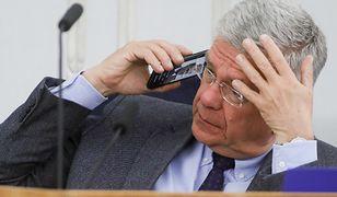 Stanisław Karczewski zapewnił, że nie ma nawet numeru telefonu Donalda Tuska