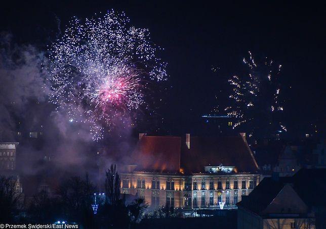Powitanie Nowego Roku w Gdańsku