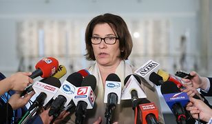 """Beata Mazurek jak Terlecki. """"Nie znamy ostatecznego projektu ustawy Gowina"""""""