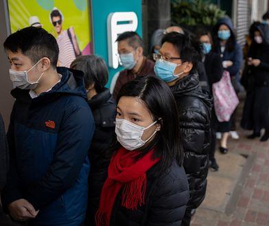 Koronawirus z Chin. Liczba zarażonych wyższa, niż podczas epidemii SARS