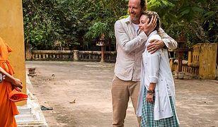 Małgosia Rozenek i Radosław Majdan w Kambodży
