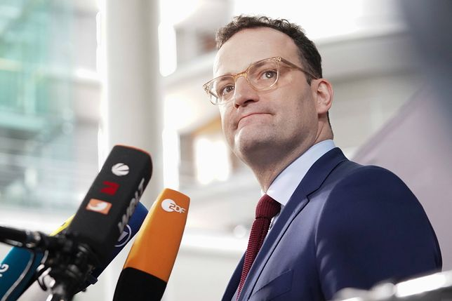 Niemcy. Minister zdrowia Jens Spahn mówił o problemach związanych z epidemią koronawirusa