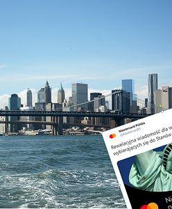 Do USA bez wizy. Mastercard złośliwy dla konkurencji