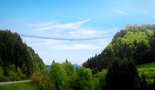 Reutte - najdłuższy wiszący most na świecie