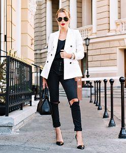 Styl, klasa, sukces. 5 powodów, dla których warto nosić biały żakiet