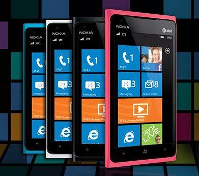Bukiet kolorów w Nokia Lumia 900