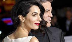 Amal Clooney w romantycznej sukience Giambattista Valli
