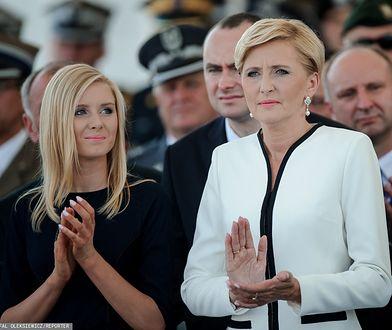 Agata Duda z córką Kingą