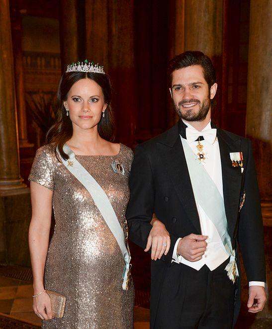 Księżna Sofia, książę Karol Filip