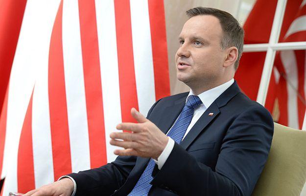 Prezydent RP Andrzej Duda w USA