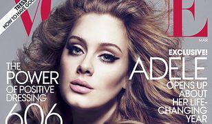 Wychudzona Adele na okładce