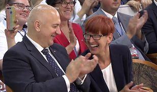 Zielona Góra. Jarosław Kaczyński żartuje na konwencji