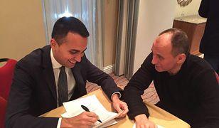Di Maio i Kukiz zapowiadają wspólny start w eurowyborach