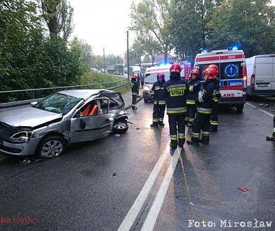 Tragiczny wypadek w Bielsku-Białej. 18-latek walczy o życie