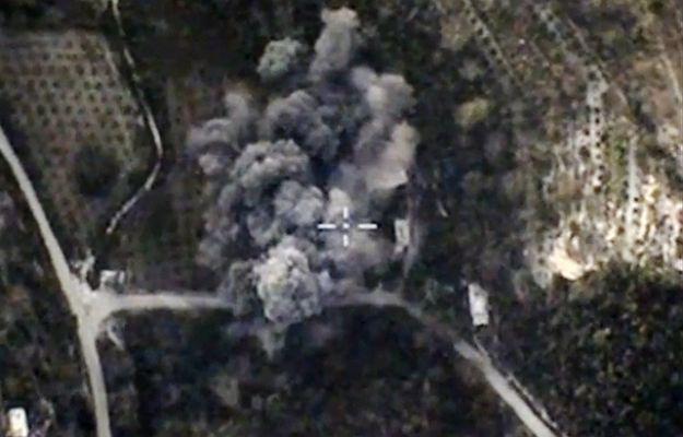 Bombardowania w Syrii