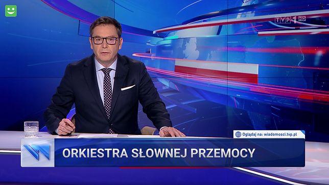 """Tym razem """"Wiadomości"""" połączyły powrót Tuska z wulgaryzmami na festiwalu Owsiaka"""
