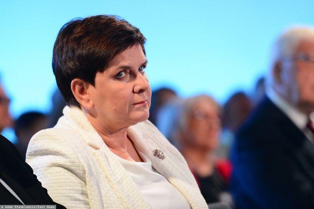 Beata Szydło odsunęła się od bieżącej polityki