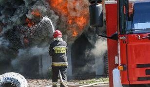 Tragedia pod Wołominem. Wybuch i pożar