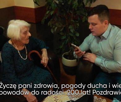Poprosił o życzenia dla babci, 100-letniej warszawianki. Nasi czytelnicy nie zawiedli
