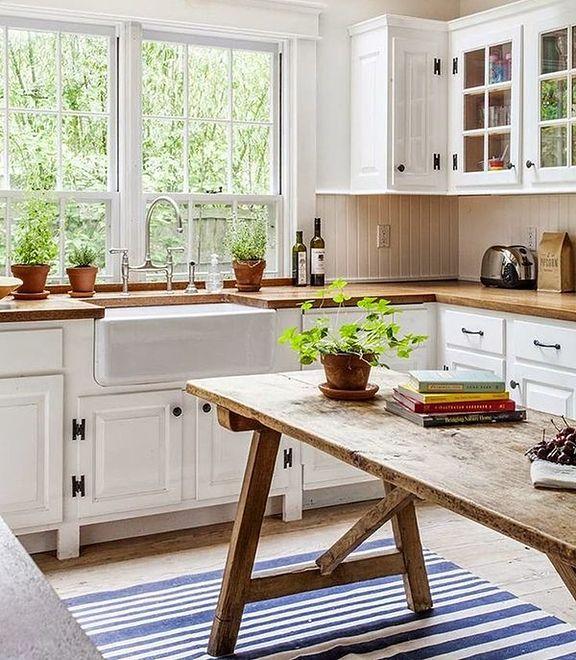 Rustykalna kuchnia  Jak urządzić kuchnię w stylu   -> Kuchnia Rustykalna Dekoracje