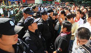 Masowe ataki strzykawkami wywołały starcia w Chinach