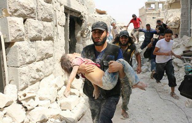 """Wojna w Syrii. UNICEF: 100 tys. dzieci w Aleppo w potrzasku. """"Barbarzyństwo"""""""