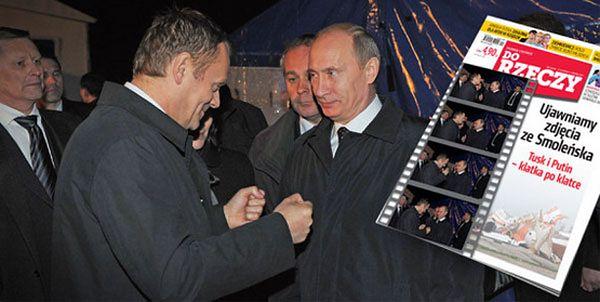 Antoni Macierewicz: istnieje nagranie ze spotkania Tuska z Putinem w Smoleńsku